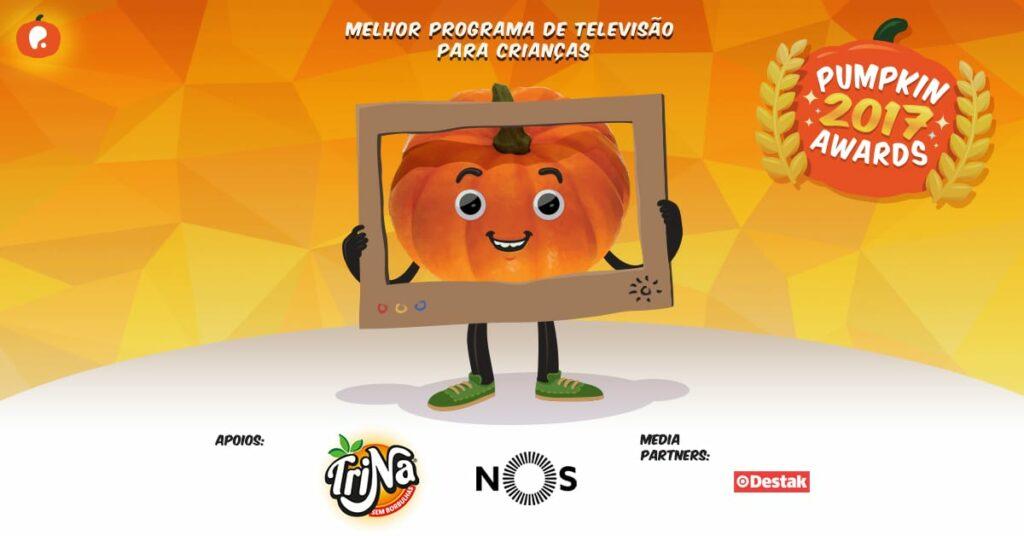 Vote no melhor programa de televisão para crianças nos Pumpkin Awards 2017