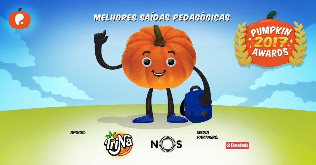 Vote nas melhores saídas pedagógicas para escolas nos Pumpkin Awards 2017