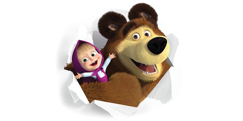 serie Masha e o Urso