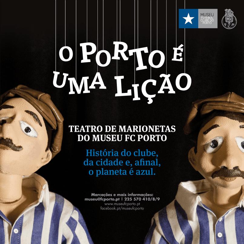 O Porto é uma Lição – Teatro de Marionetas em Dezembro