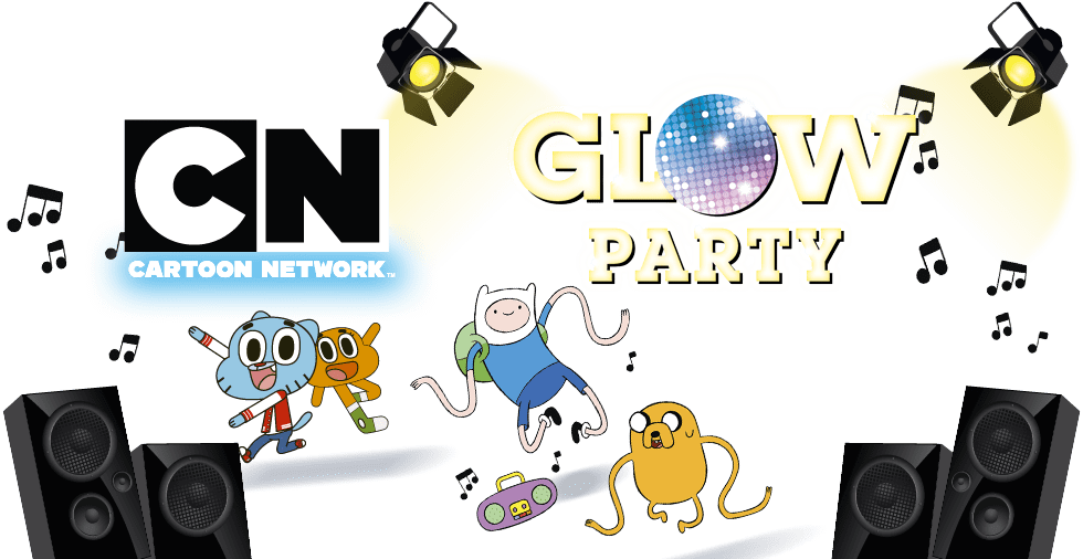Cartoon Network Glow Party
