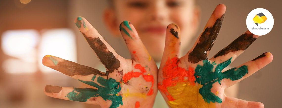 'Dialogar a arte': oficina de arte para crianças