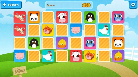 apps para crianças  imemory jogatina