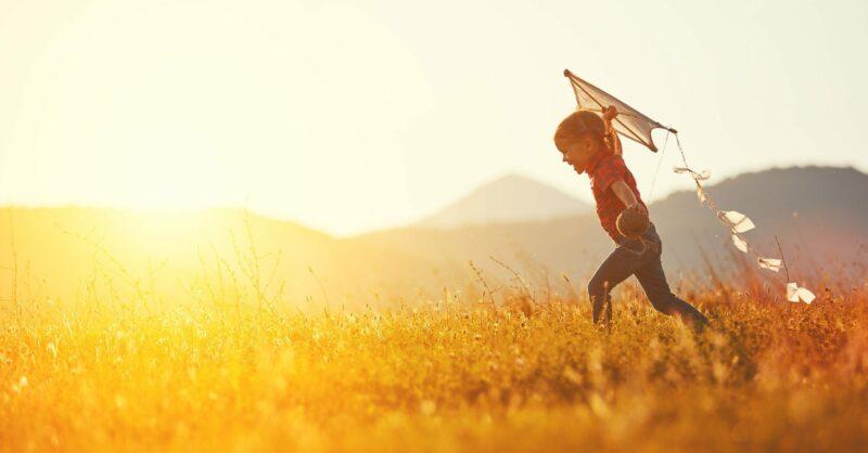felicidade na infância