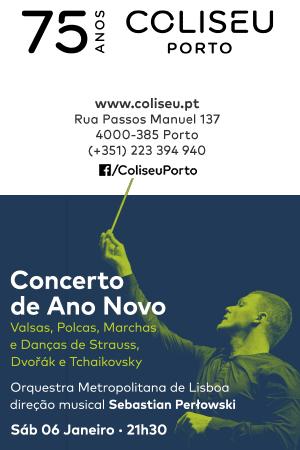 Concerto de Ano Novo Coliseu do Porto