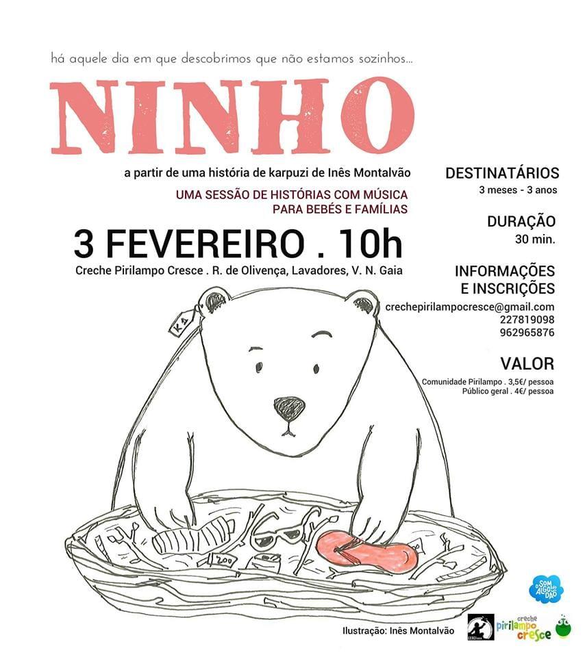 Bebeteca   NINHO - 3 de fevereiro