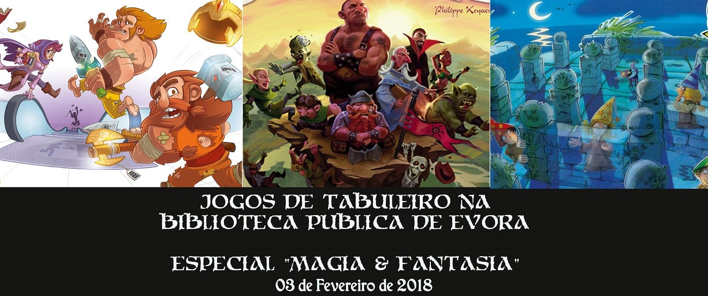 Jogos de tabuleiro na Biblioteca – Magia & Fantasia