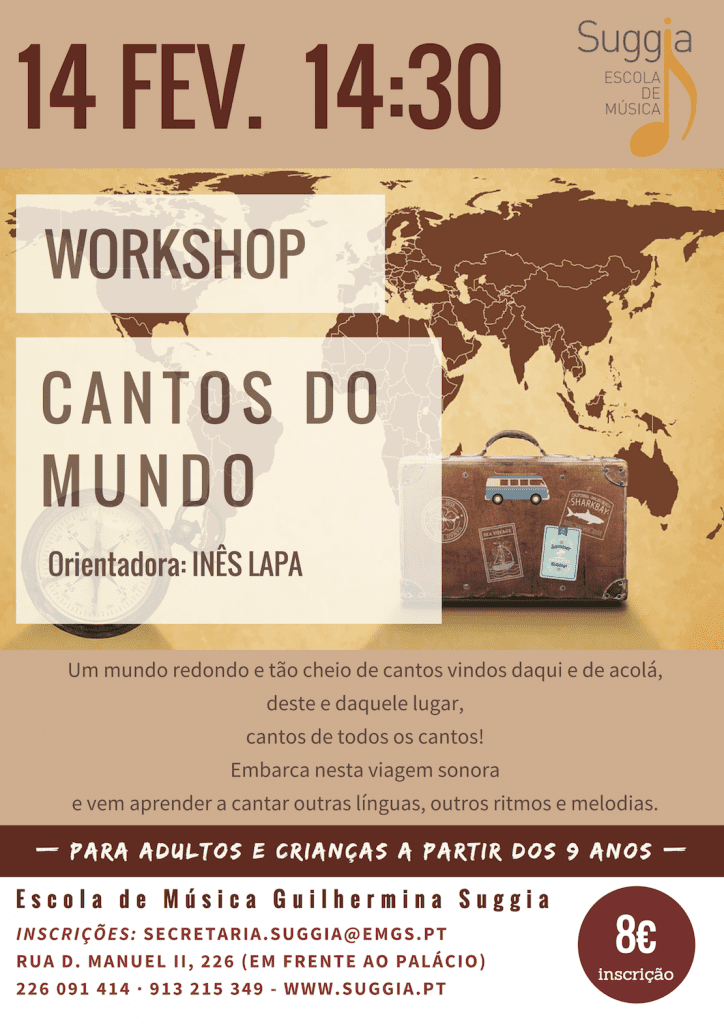 Workshop CANTOS DO MUNDO