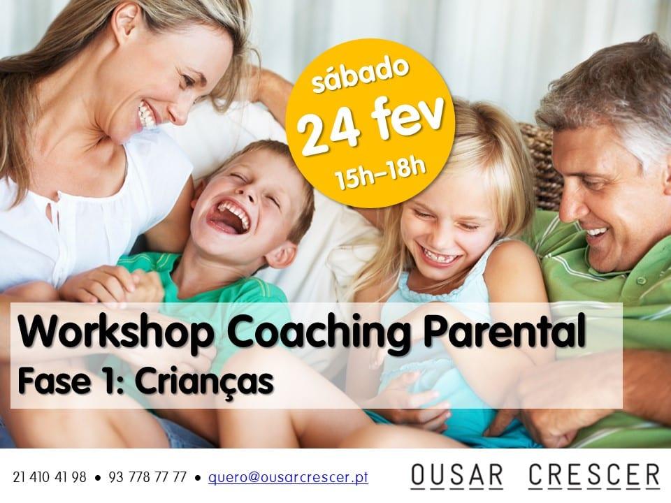 Workshop de Coaching Parental – Fase 1: Crianças (3-10 anos)