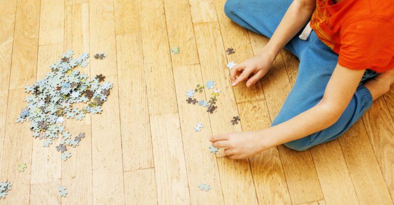 Três razões para brincar com puzzles