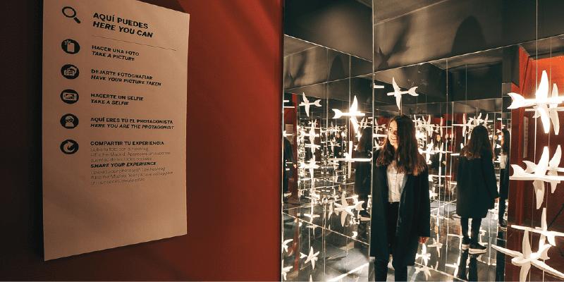 ESCHER Sala Espelhos