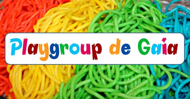 Playgroup de Gaia | Esparguete Arco-Íris