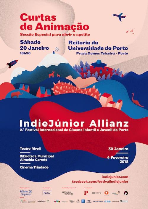 IndieJúnior Allianz na Reitoria da U.Porto