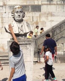 """""""Visita-Jogo: do Aqueduto ao Reservatório da Patriarcal"""""""