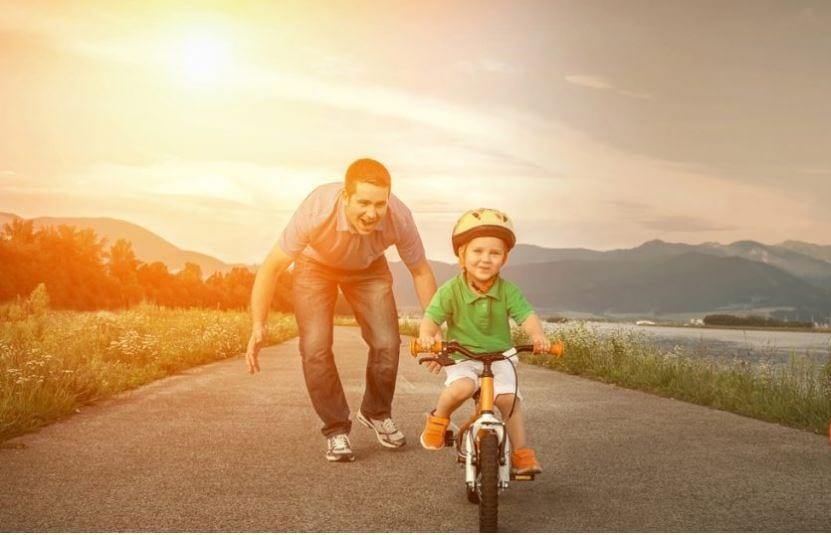 Ser Pai É Natural - Bicicleta