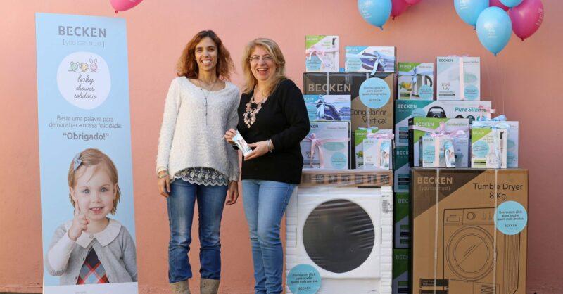 WORTEN Ajuda de Berço_Inês Borges Diretora de Marketing da Worten e Sandra Anastácio Presidente da Ajuda de Berço