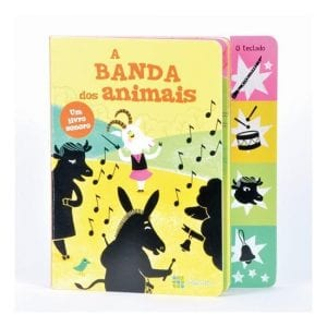 livros para bebés a banda dos animais