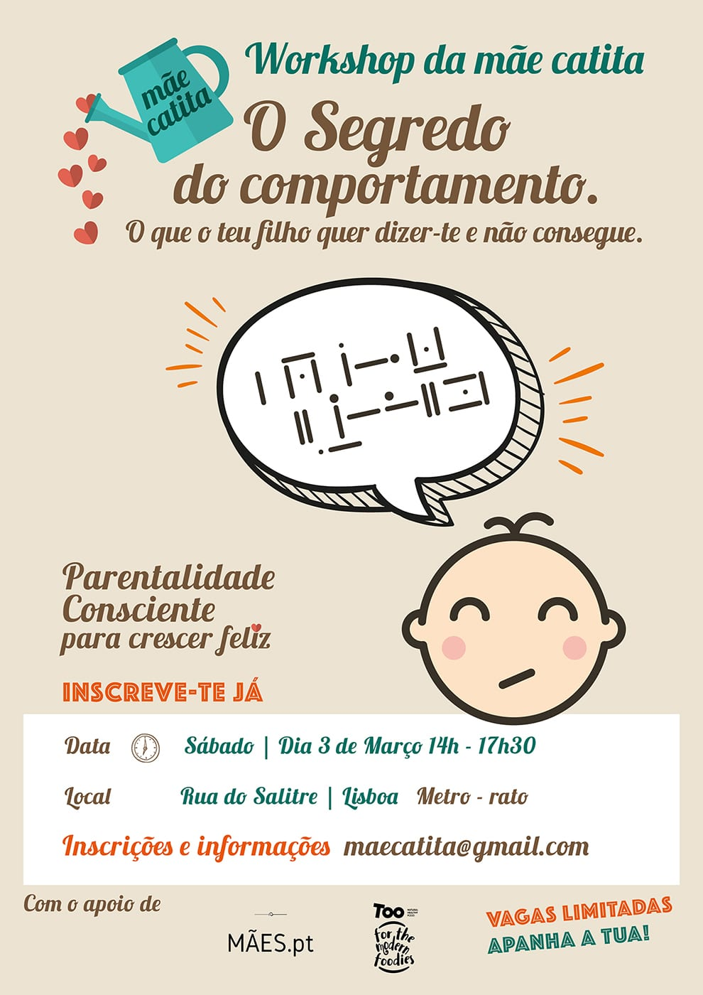 Workshop – O SEGREDO DO COMPORTAMENTO
