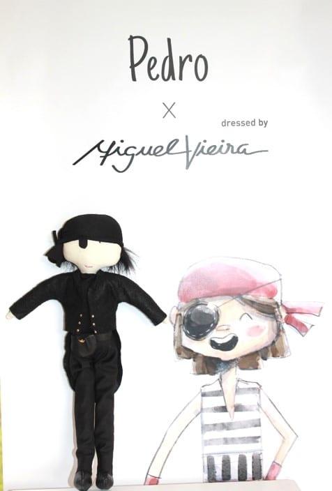 pirata solidário vestido por Miguel Vieira x Ronald McDonald