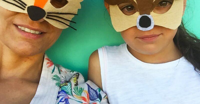 Mascarilhas de Carnaval: Raposa e Veado