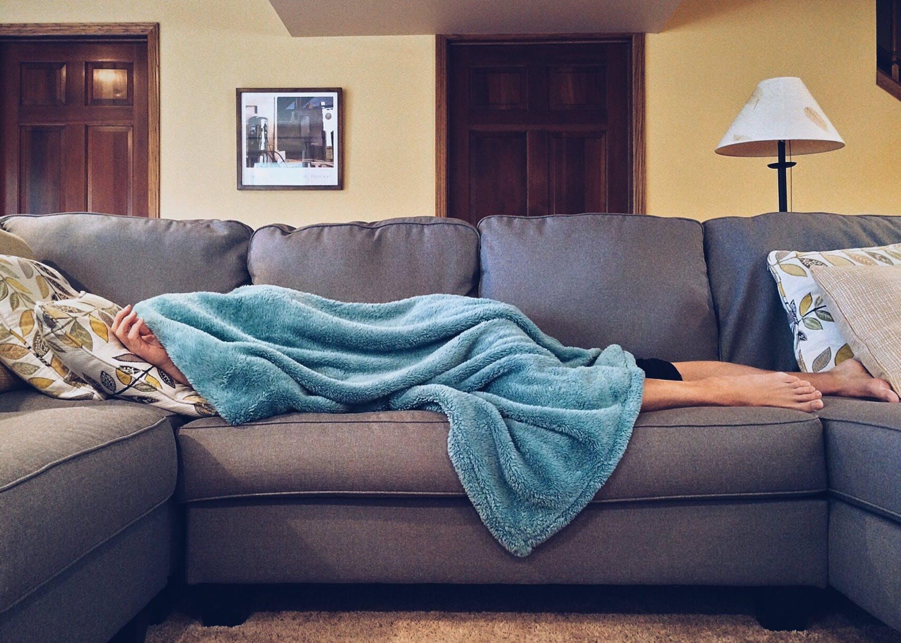 gripe e constipação na gravidez - cansaço