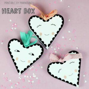 caixa coração para dia dos Namorados
