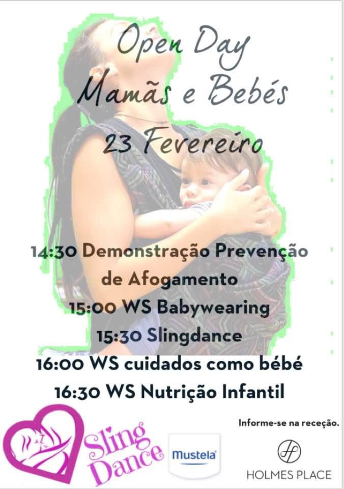 OPEN DAY MAMÃS E BEBÉS
