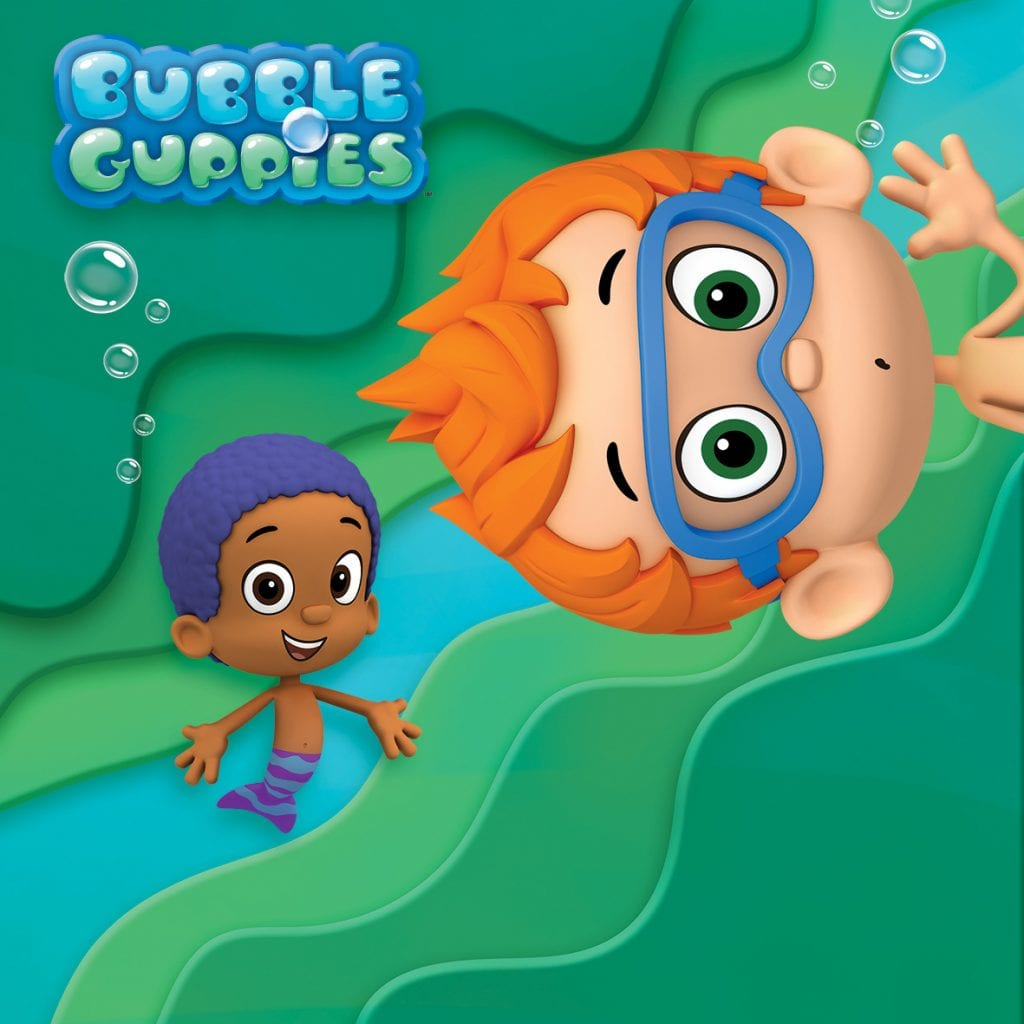 Nick Jr Bubble Guppies