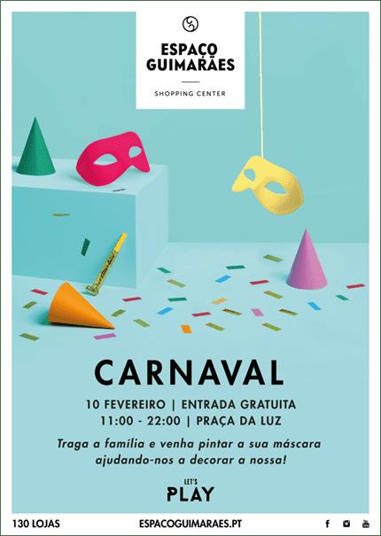 Espaço Guimarães assinala Carnaval com atividades para os mais novos