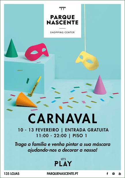 Parque Nascente assinala Carnaval com atividades para os mais novos