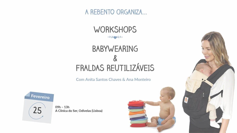 Workshop de Introdução ao Babywearing e às Fraldas Reutilizáveis