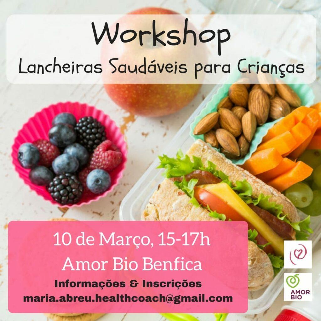"""Workshop """"Lancheiras Saudáveis para Crianças"""""""
