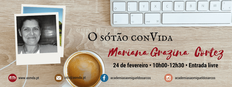 O Sótão ConVida Mariana Grazina Cortez