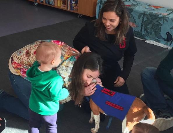 Baby Gym – ginástica para bebés com cães