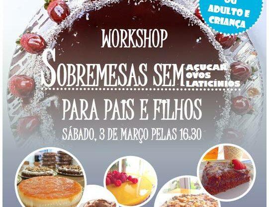 Workshop: Sobremesas para Pais e Filhos