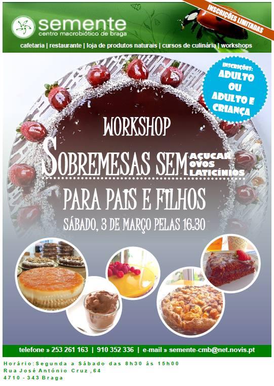 Workshop Sobremesas