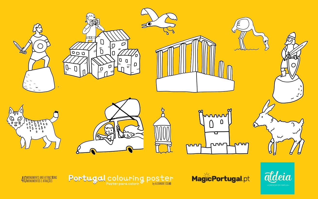 Colorir Portugal