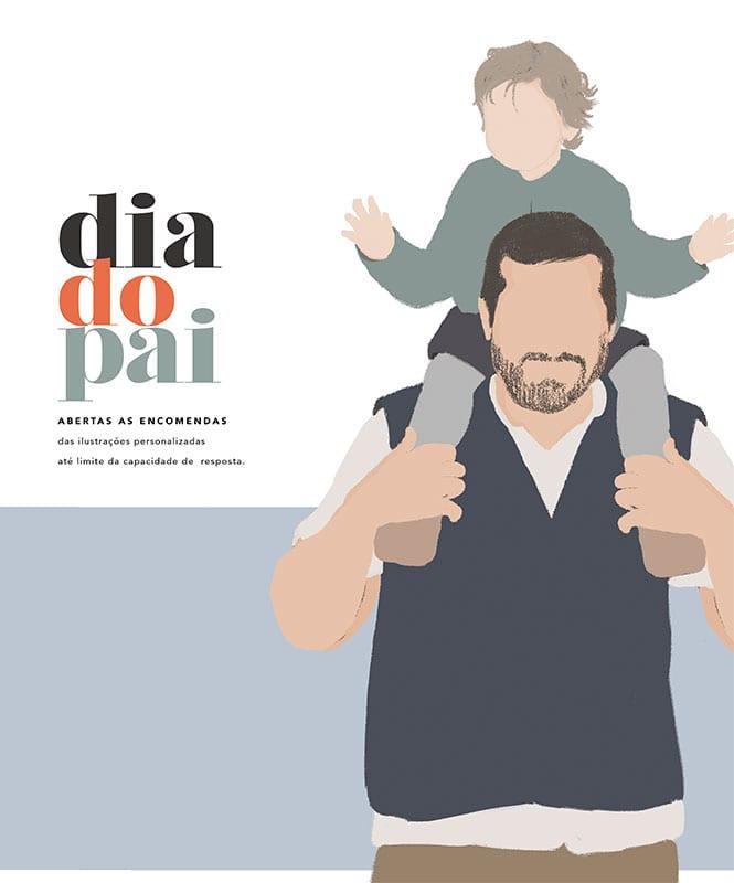 ilustração dia do pai