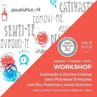 Ilustração e Escrita Criativa para Processar Emoções