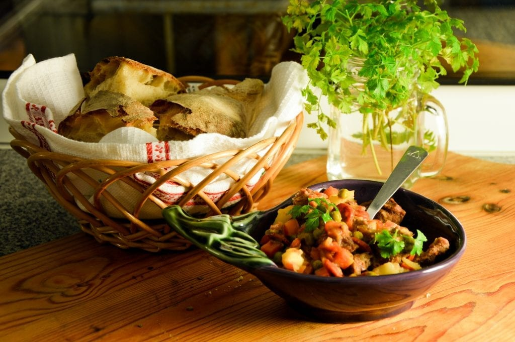 Receita de jardineira de carne e legumes capa