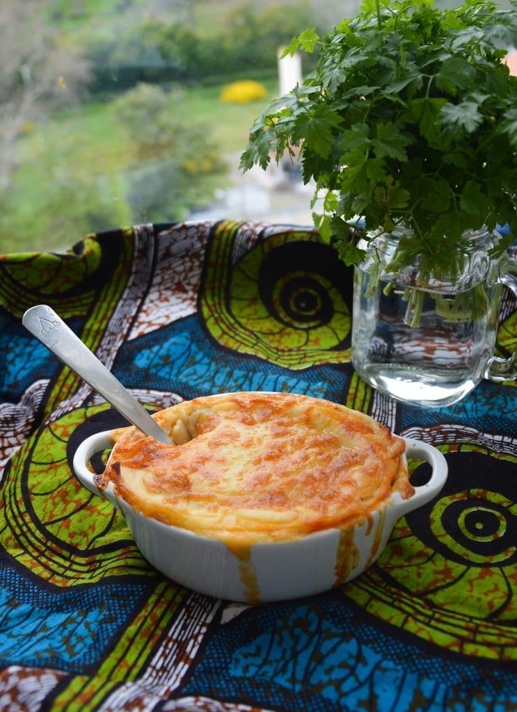 Receita de Lasanha vegetariana com legumes assados