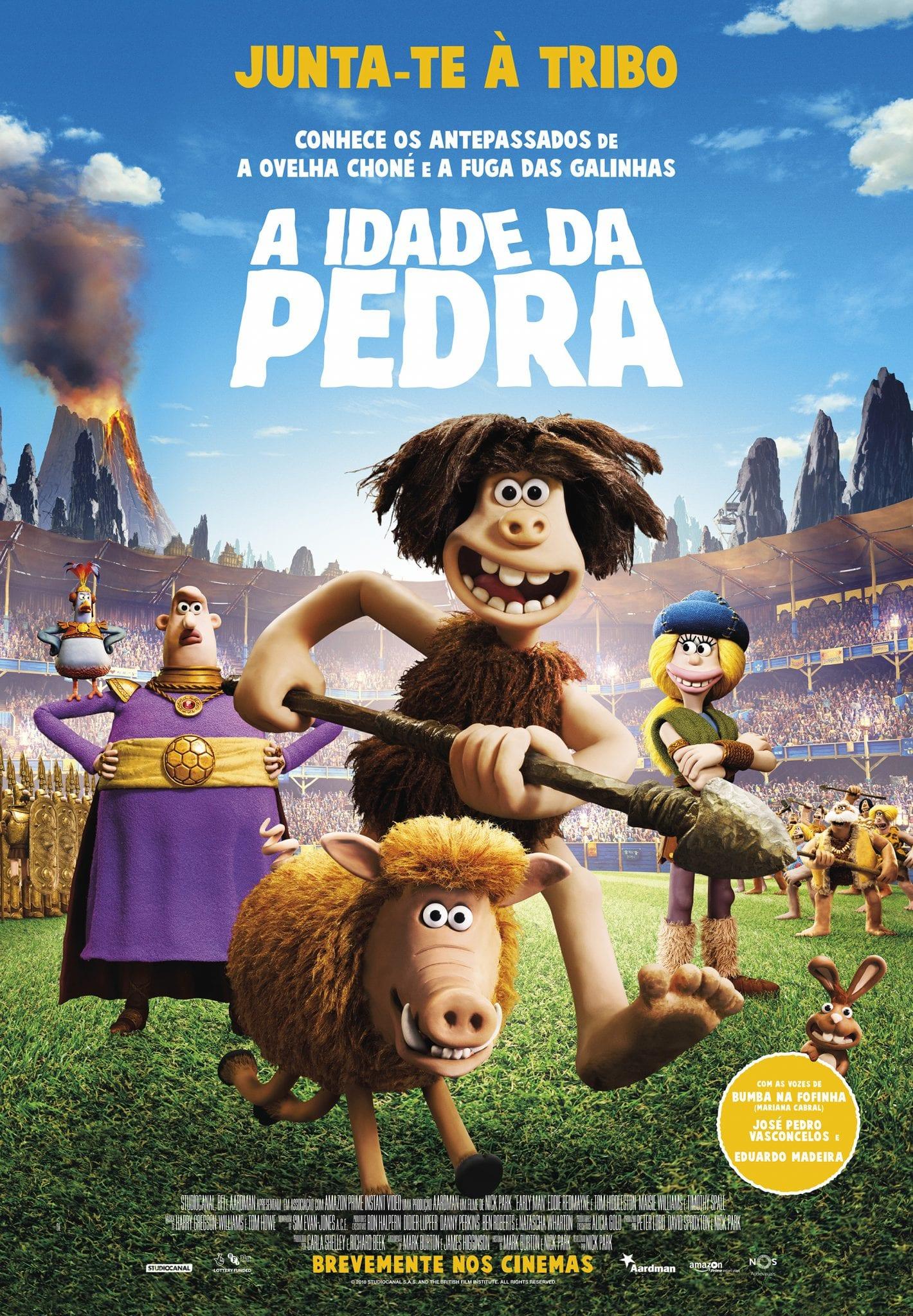 Poster do Filme A Idade Da Pedra
