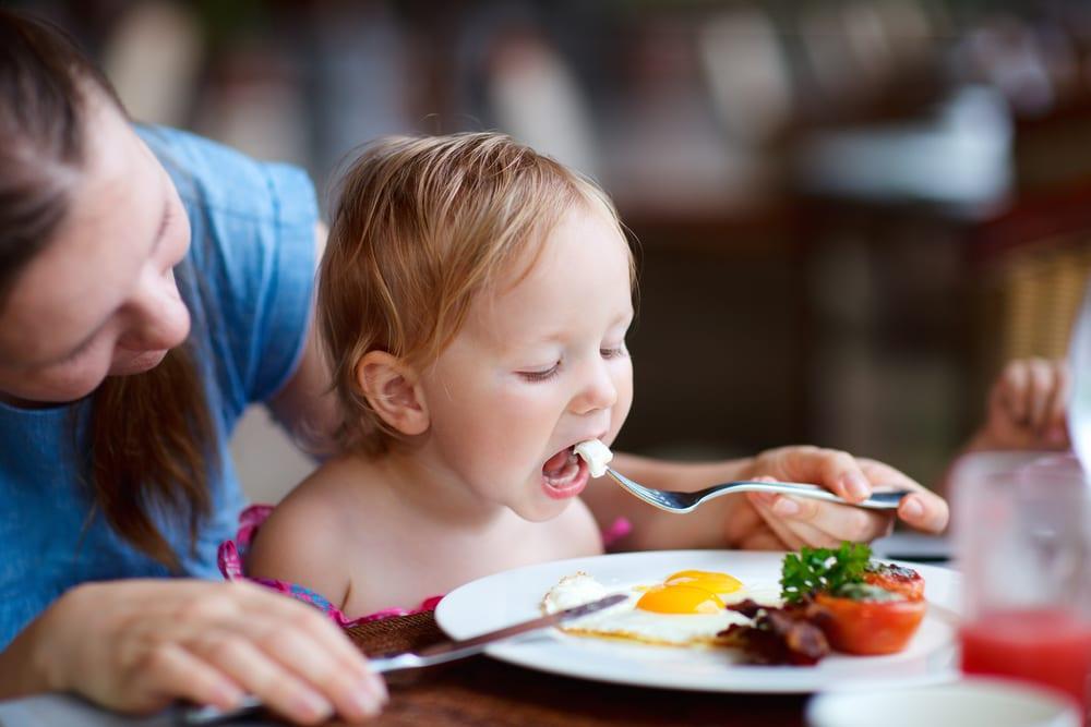 comer bebés