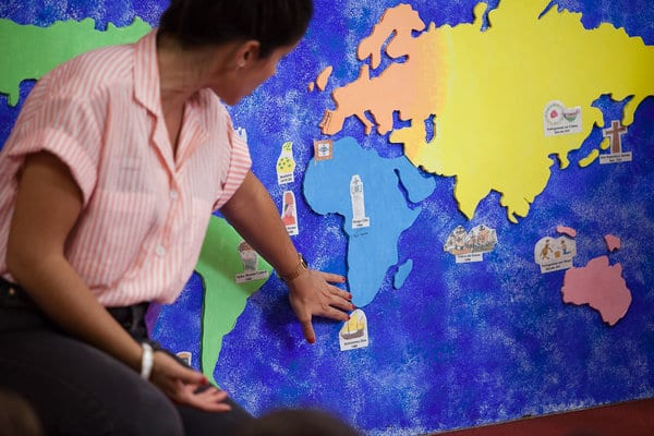 Actividades no Museu do Oriente em que os pais  também são protagonistas