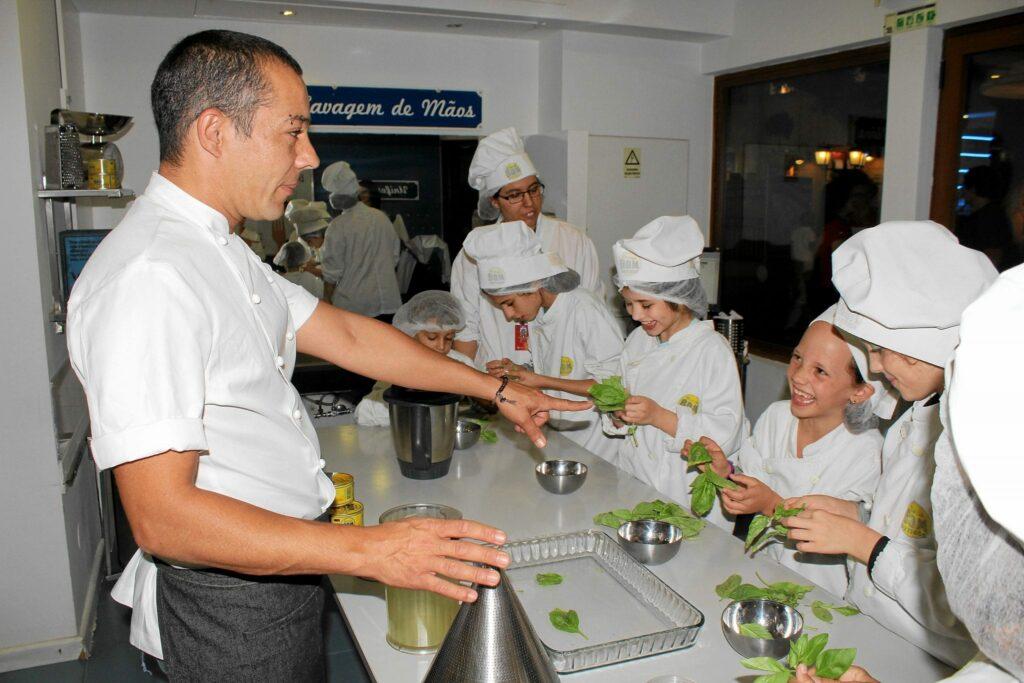 Workshop Culinária Kidzania