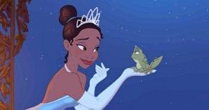 A princesa e o sapo filme disney