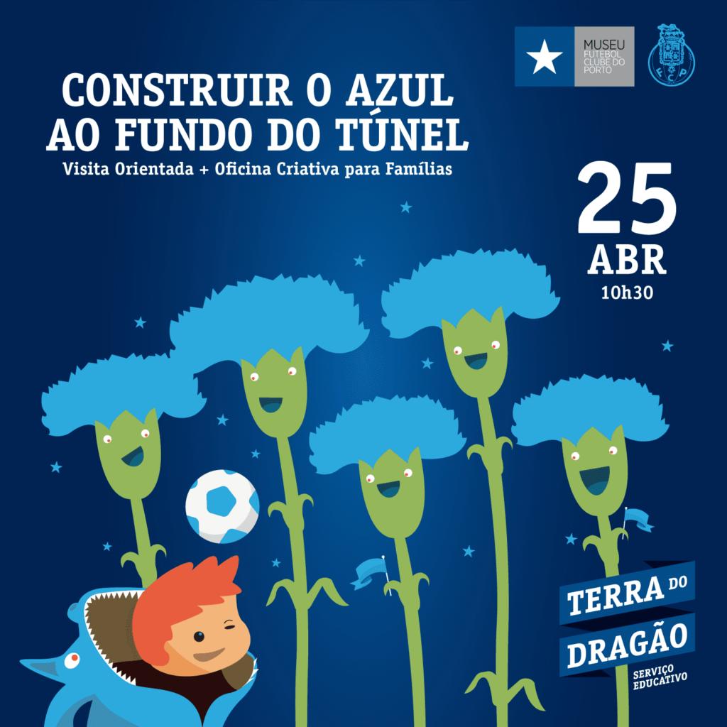 Construir o Azul ao Fundo do Túnel – Visita Orientada + Oficina Criativa