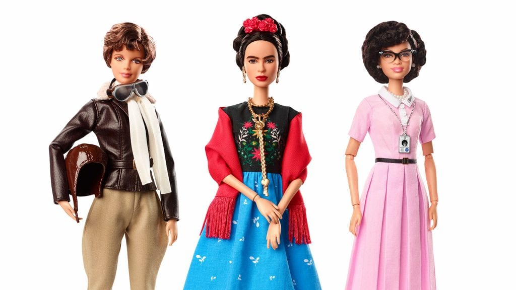 Barbie Inspiring Women