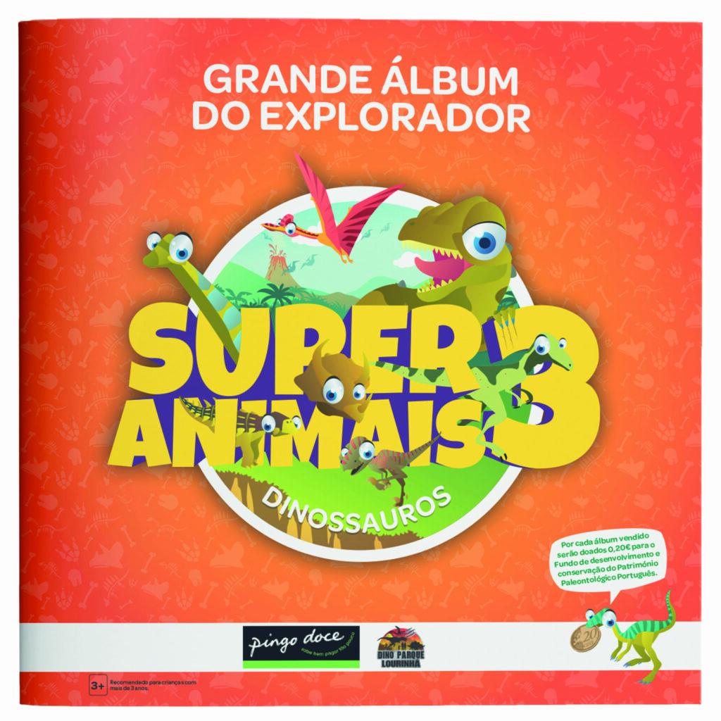 Coleção Super Animais 3 DinoParque