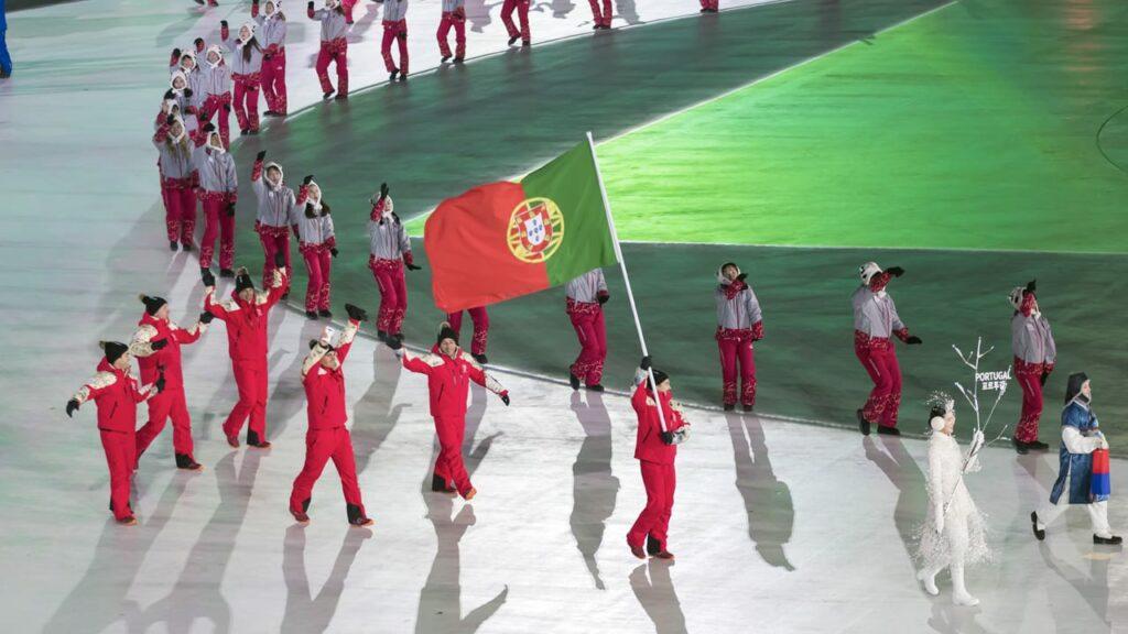 Campo Olímpico Portugal - atletas Olimpicos